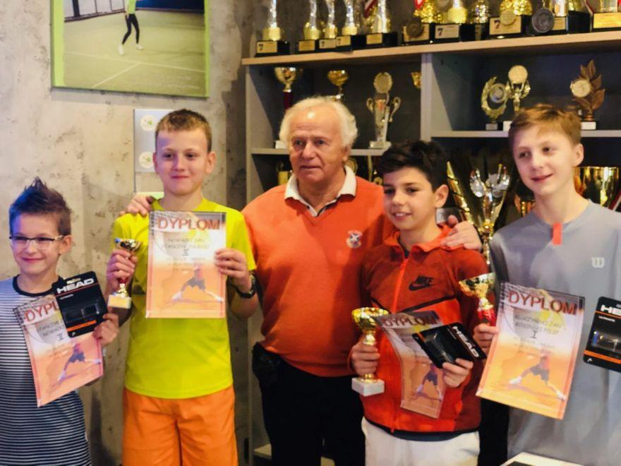 Bielsko-Biała: Medale dla tenisistów ziemnych ze Szczawna–Zdroju