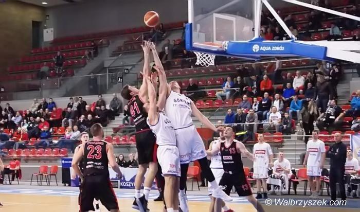 Łańcut: I liga koszykówki mężczyzn: Sensacyjna wygrana Górnika w Łańcucie