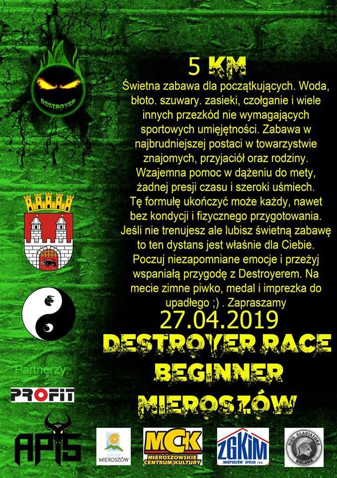 REGION, Mieroszów: Kolejna edycja Destroyer Race odbędzie się ponownie w Mieroszowie