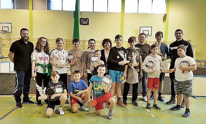 Jedlina-Zdrój: Zimowy Międzygminny Turniej Tenisa Stołowego za nami