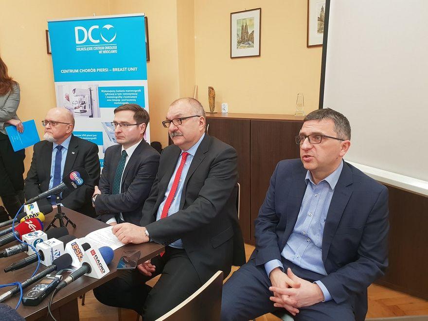 Wałbrzych/REGION: Wałbrzyski szpital im. dra Alfreda Sokołowksiego w sieci onkologicznej na Dolnym Śląsku