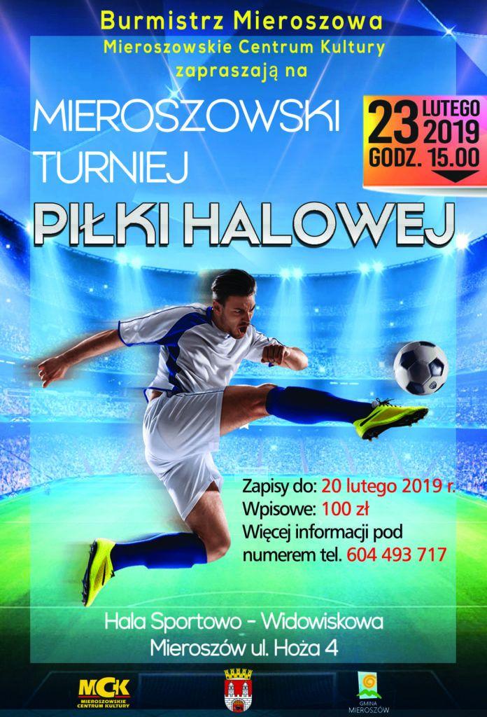Mieroszów: Turniej piłki halowej odbędzie się w Mieroszowie