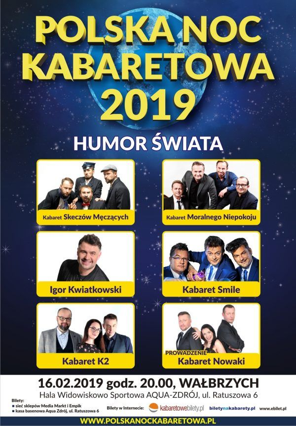 Wałbrzych: Już w sobotę najlepsze kabarety zagoszczą w Wałbrzychu