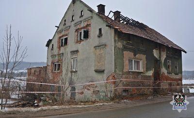 REGION, Boguszów-Gorce: Tymczasowy areszt dla mężczyzny podejrzanego o podpalenie budynku mieszkalnego