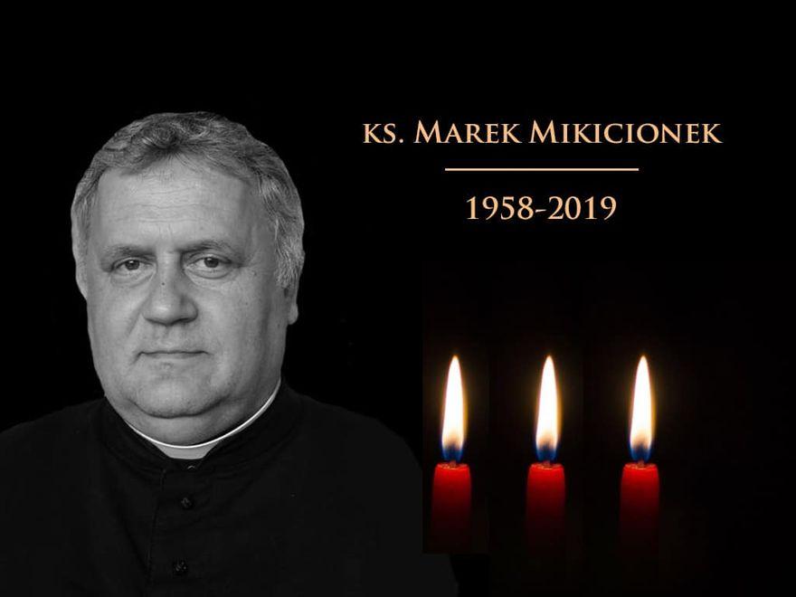 REGION: Zmarł ksiądz Marek Mikicionek