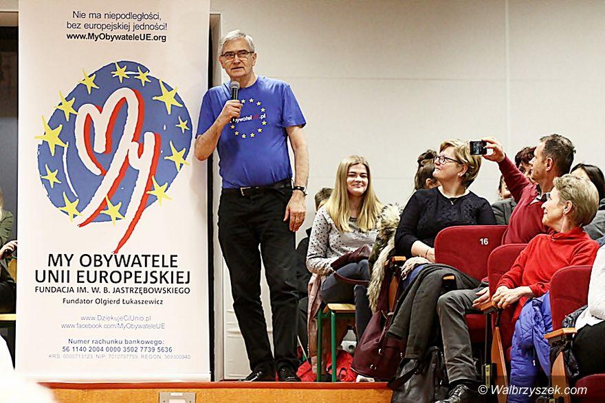 Wałbrzych: Olgierd Łukaszewicz – obywatel UE w Wałbrzychu