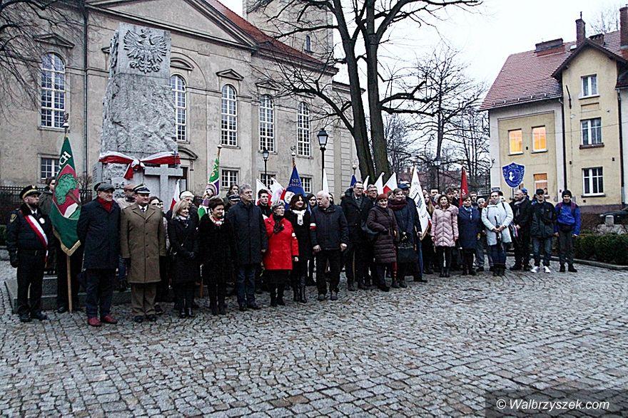 Wałbrzych: Uczczono pamięć Żołnierzy Wyklętych