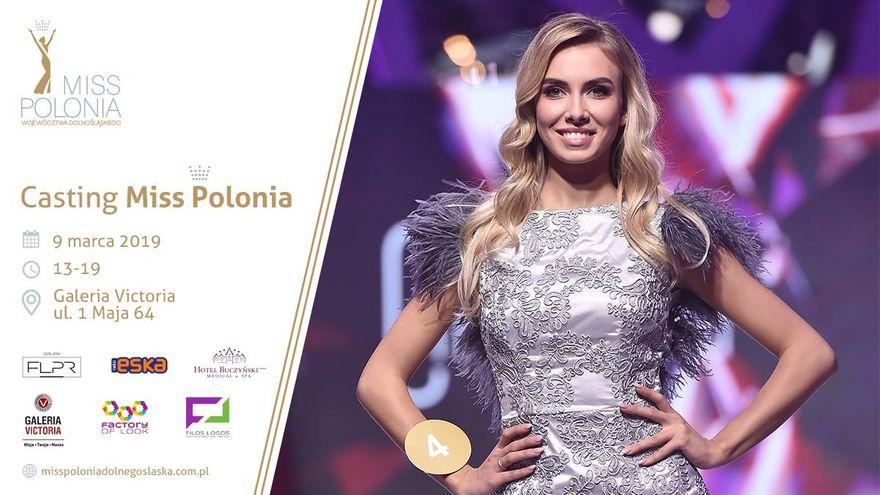 Wałbrzych: Casting Miss Polonia Województwa 2019 już w sobotę w Galerii Victoria!