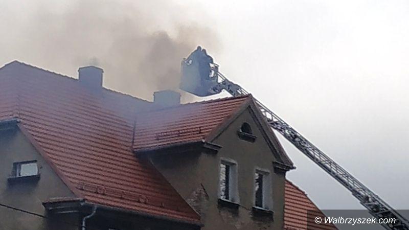 REGION, Szczawno-Zdrój: Strażacy interweniowali w Szczawnie–Zdroju