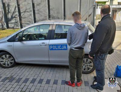 Wałbrzych: 14–latek podejrzany o dokonanie rozboju przy ul. 1 maja w Wałbrzychu