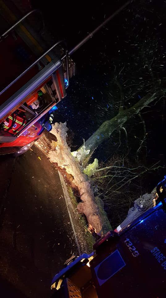 Wałbrzych/powiat wałbrzyski: Wichura spowodowała spore straty