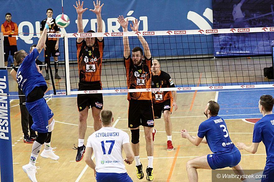 Wałbrzych: II liga siatkówki mężczyzn: Nie było łatwo w drugim meczu z Żaganiem