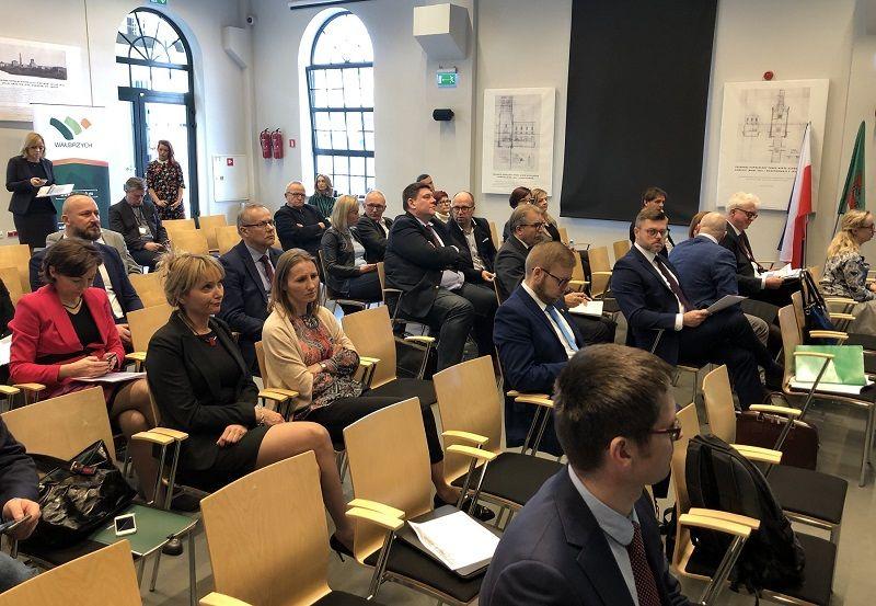 Wałbrzych/REGION: Unijna delegacja w Wałbrzychu