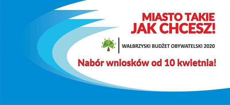 Wałbrzych: Od 10 kwietnia można będzie zgłaszać projekty do Wałbrzyskiego Budżetu Obywatelskiego na rok 2020