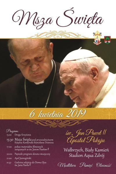 Wałbrzych: Znamy szczegóły Mszy Papieskiej