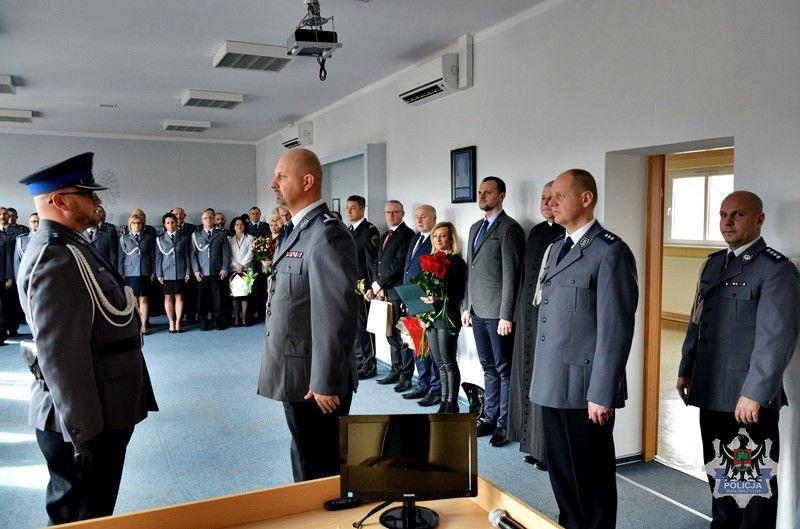Wałbrzych: Komisarz Krzysztof Lewandowski powołany na stanowisko Komendanta Miejskiego Policji w Wałbrzychu