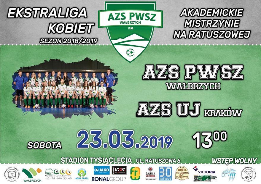 Wałbrzych: Ekstraliga piłkarska kobiet: Przedłużyć marzenia o podium