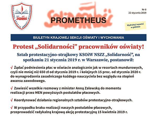 REGION: Solidarność daje rządowi czas do 28 marca