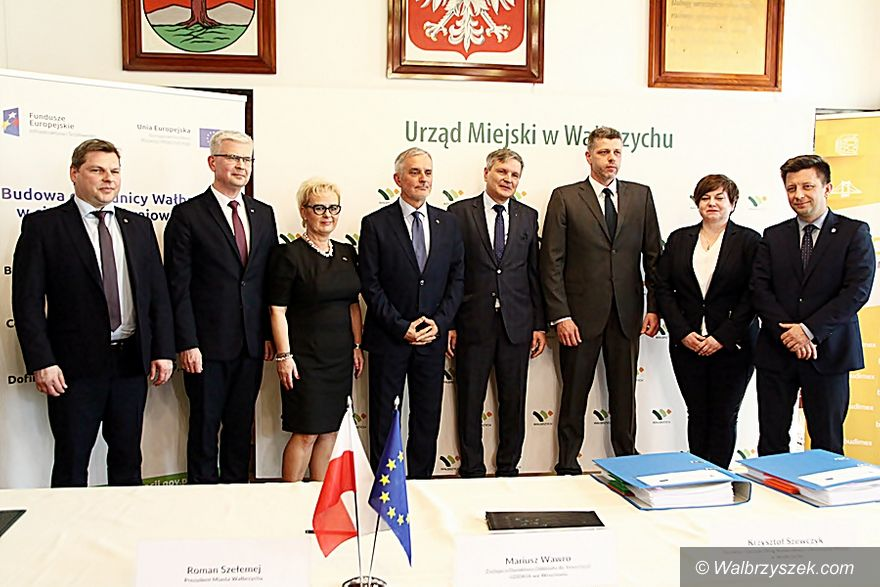 Wałbrzych: Umowa na budowę obwodnicy podpisana