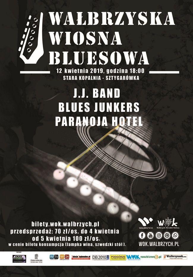 Wałbrzych: Bluesowy Wałbrzych już w ten piątek