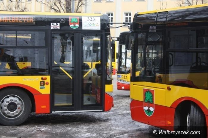 Wałbrzych: Autobusy komunikacji miejskiej nr 31 dojeżdżają teraz ze Świdnicy na wałbrzyskie Podzamcze