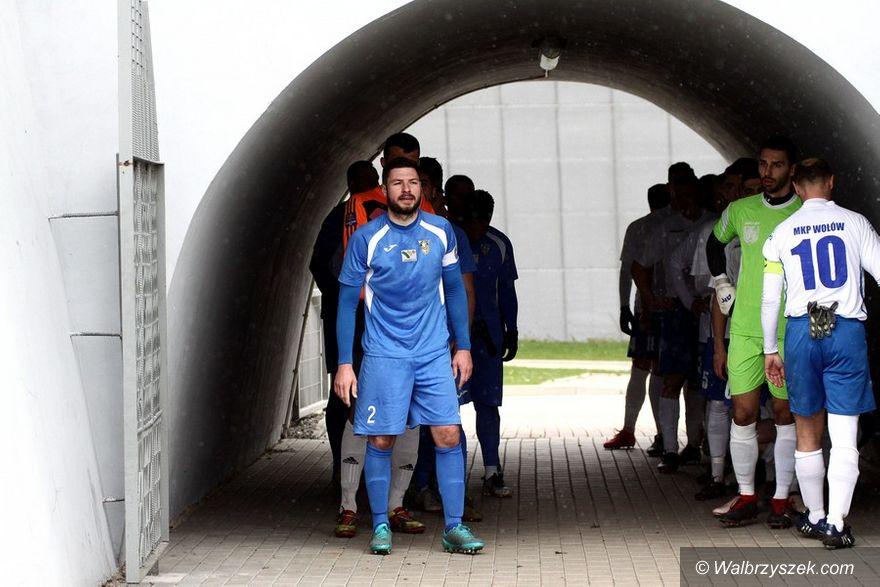 Wałbrzych: IV liga piłkarska: Wyładowali się na Wołowie