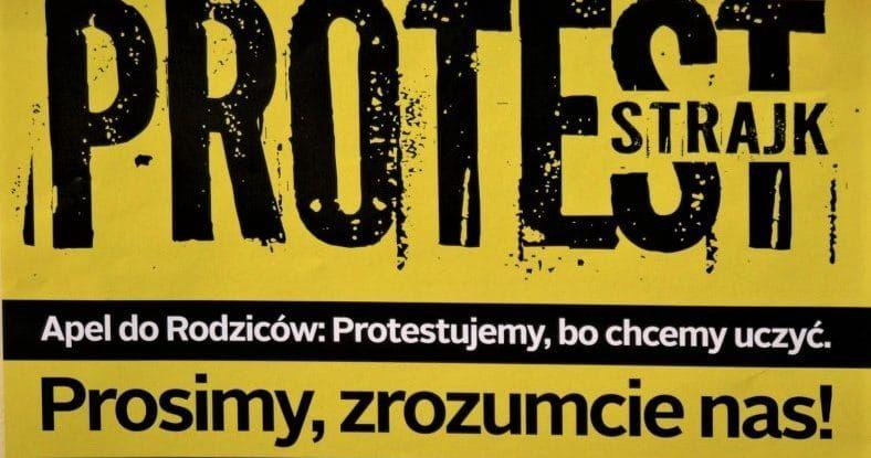 Wałbrzych: Jutro wesprą strajkujących nauczycieli