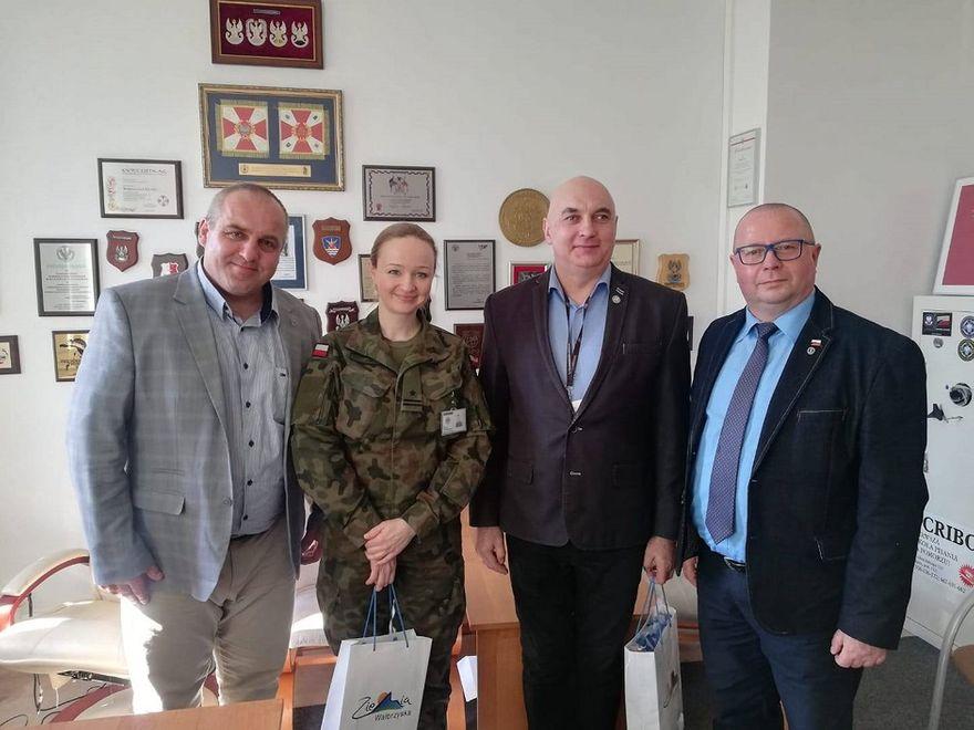 powiat wałbrzyski: Starosta z wizytą w Szczecinie