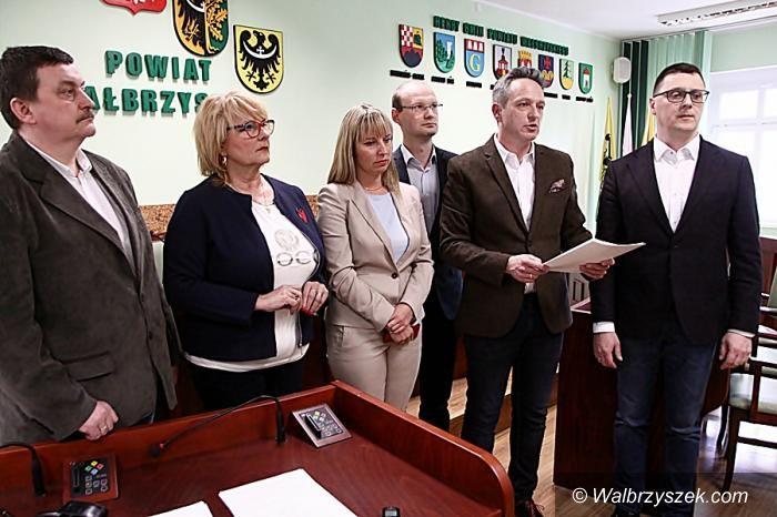 powiat wałbrzyski: Radni stają w obronie swojej koleżanki