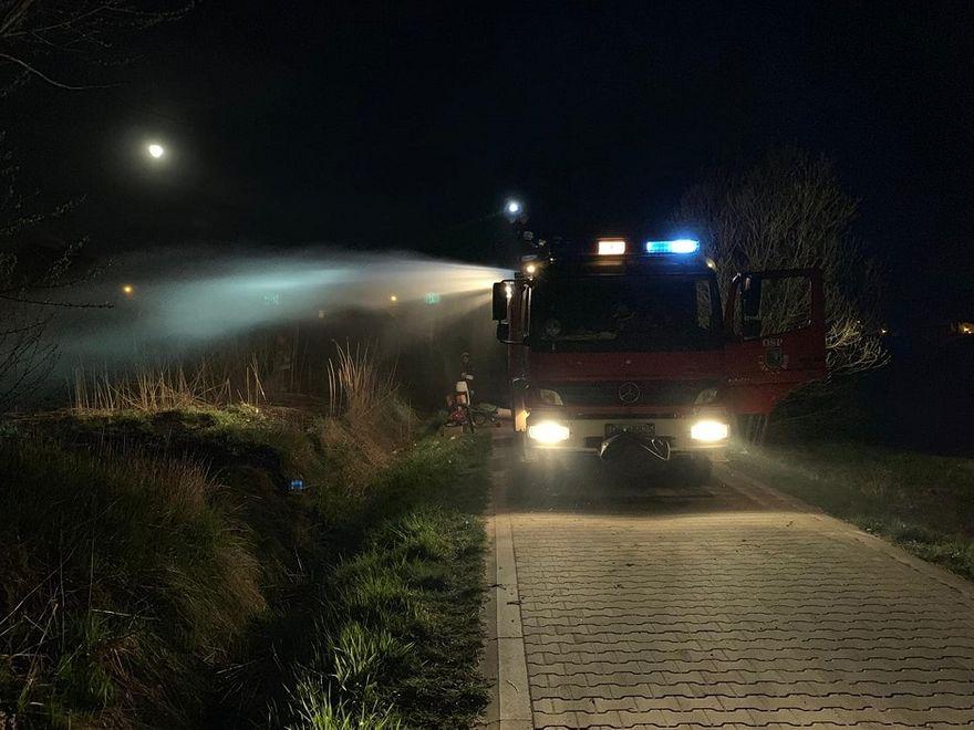 REGION, Czarny Bór: Niewybuch i pożary traw – pracowite dni strażaków z Czarnego Boru