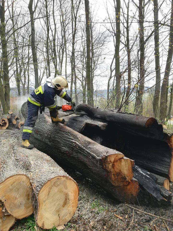 REGION, Boguszów-Gorce: Boguszowscy strażacy w akcji nawet w czasie świąt