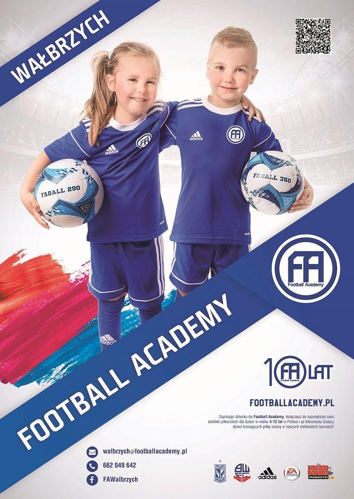 Wałbrzych: Tu zaczyna się futbol –  Football Academy