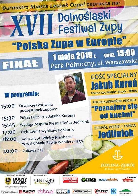 REGION, Jedlina-Zdrój: Kolejna edycja Festiwalu Zupy już jutro