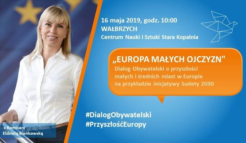 Wałbrzych: Komisarz Elżbieta Bieńkowska przyjedzie do Wałbrzycha