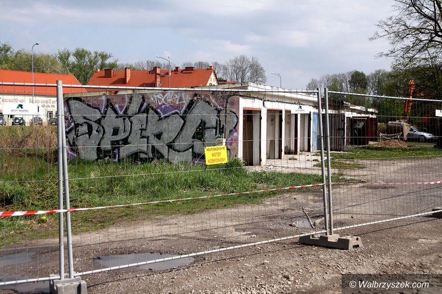 Wałbrzych: Pierwsze prace przy budowie obwodnicy Wałbrzycha są już wykonywane