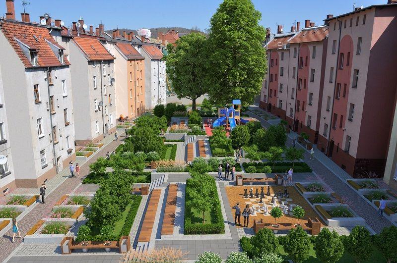 Wałbrzych: Na Nowym Mieście powstanie modelowe podwórko?