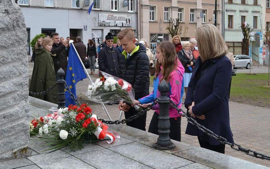 REGION, Mieroszów: W Mieroszowie również pamiętali o święcie narodowym