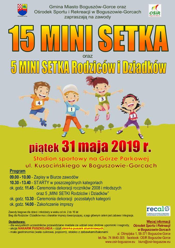 Boguszów-Gorce: Mini Setka dla dzieci i dorosłych