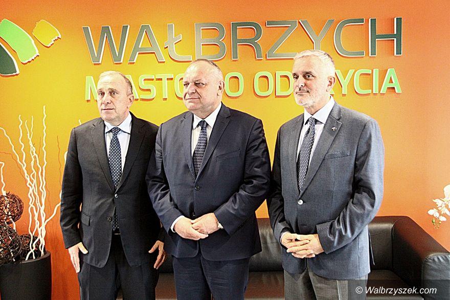 Wałbrzych: Szef PO z wizytą w Wałbrzychu