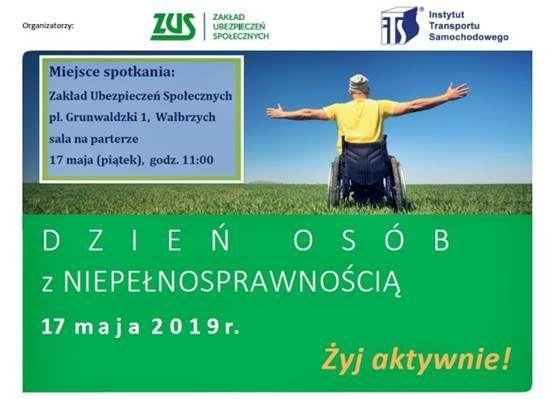 """Wałbrzych: Wałbrzyski ZUS dla niepełnosprawnych, czyli """"Żyj aktywnie"""
