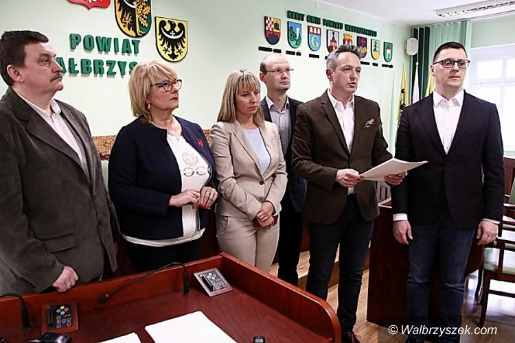 powiat wałbrzyski: Wojewoda zadecyduje o losie radnej powiatowej