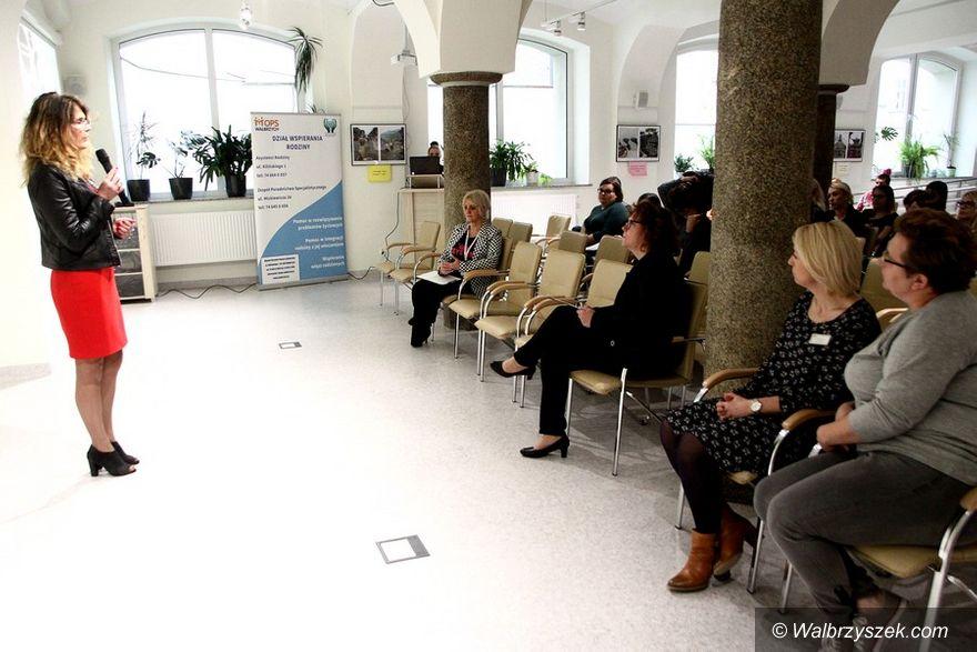 Wałbrzych: Asystent rodziny – konferencja w MOPS–ie