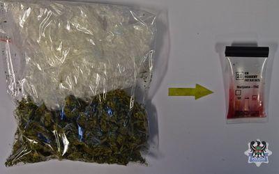 Wałbrzych: 15–latek zatrzymany z narkotykami