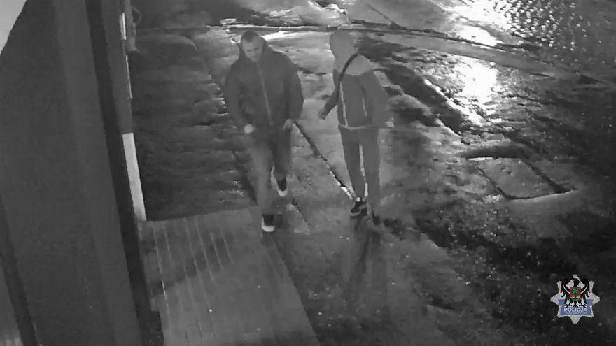Wałbrzych/REGION: Wałbrzyscy policjanci poszukują dwóch mężczyzn, którzy usiłowali dokonać rozboju na 61–latce