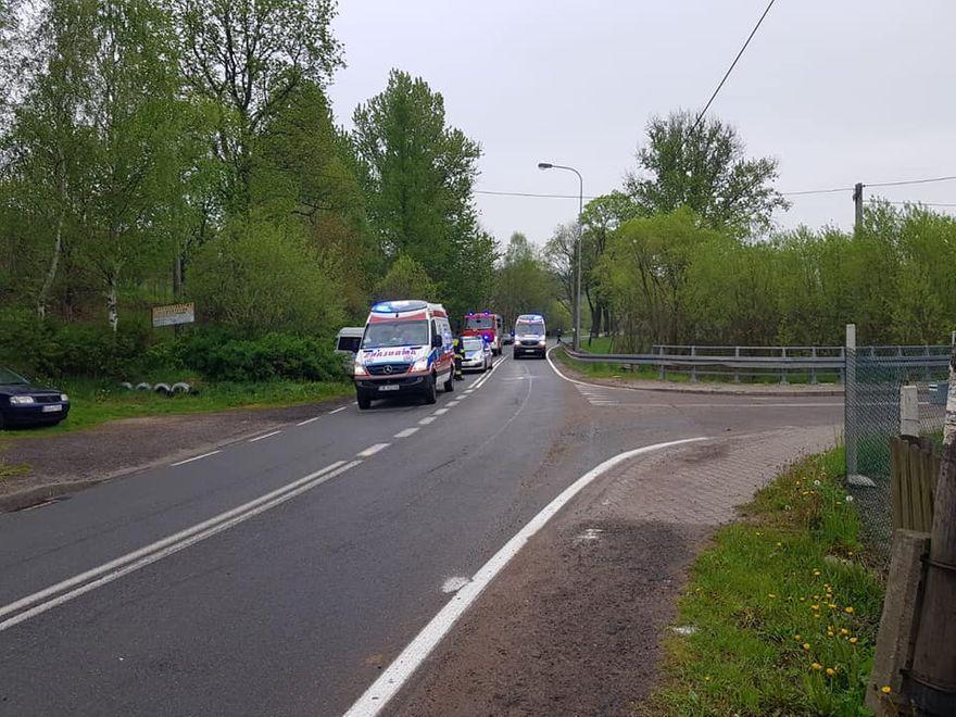 powiat wałbrzyski: Poważny wypadek w Unisławiu Śląskim