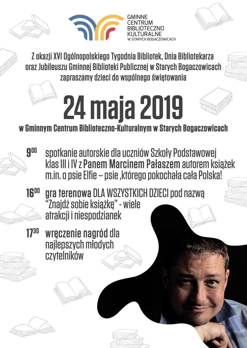 REGION, Stare Bogaczowice: XVI Ogólnopolski Tydzień Bibliotek w gminie Stare Bogaczowice