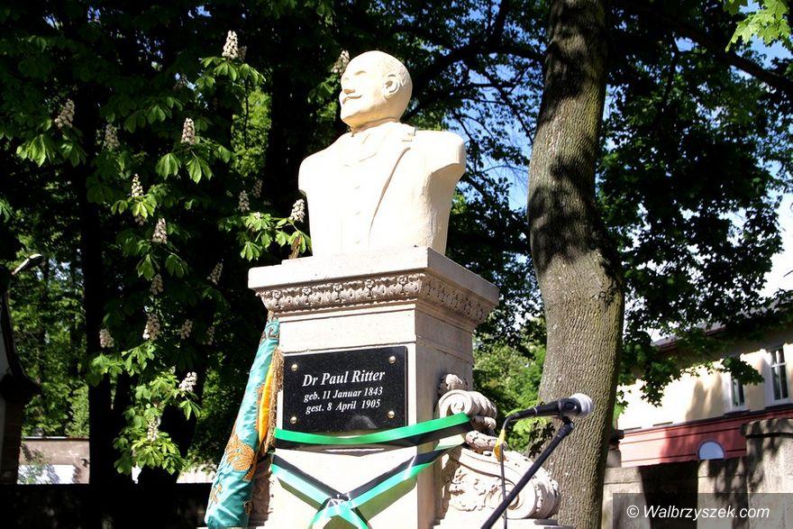 Wałbrzych: Pomnik Rittera odrestaurowany