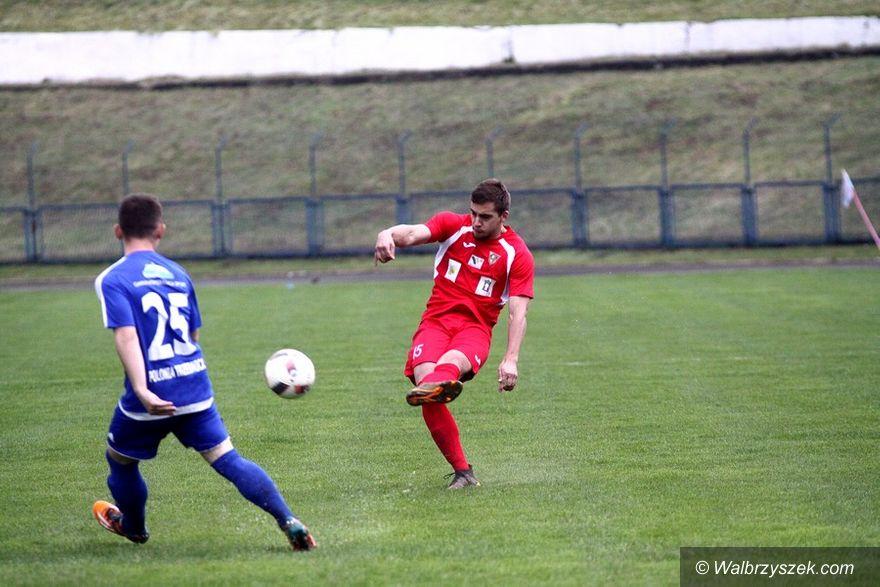 Wałbrzych: IV liga piłkarska: Przerwany mecz