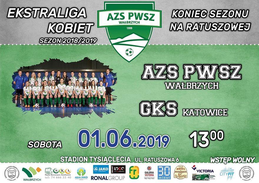 Wałbrzych: Ekstraliga piłkarska kobiet: Ostatni mecz przed własną publicznością