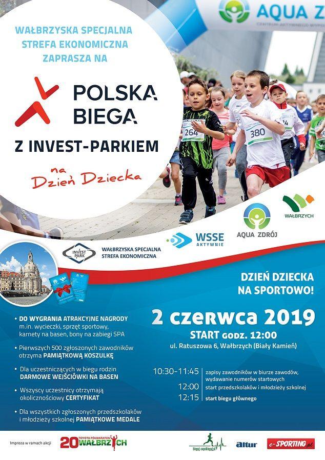 Wałbrzych: Już jutro Wałbrzych pobiegnie z Invest Parkiem